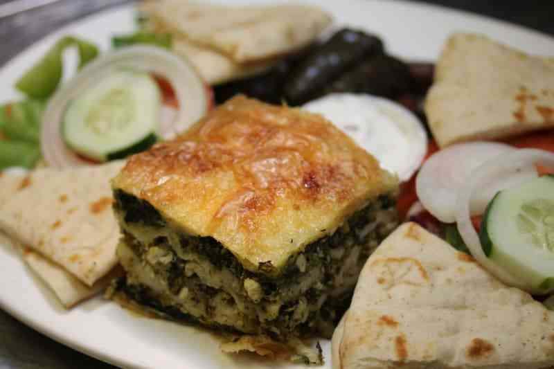 Greek Vegetarian Platter