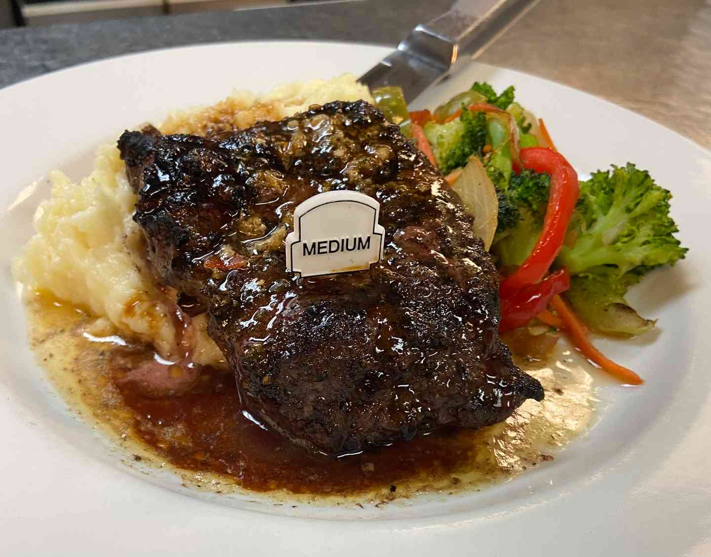 10oz Grilled Flat Iron Steak