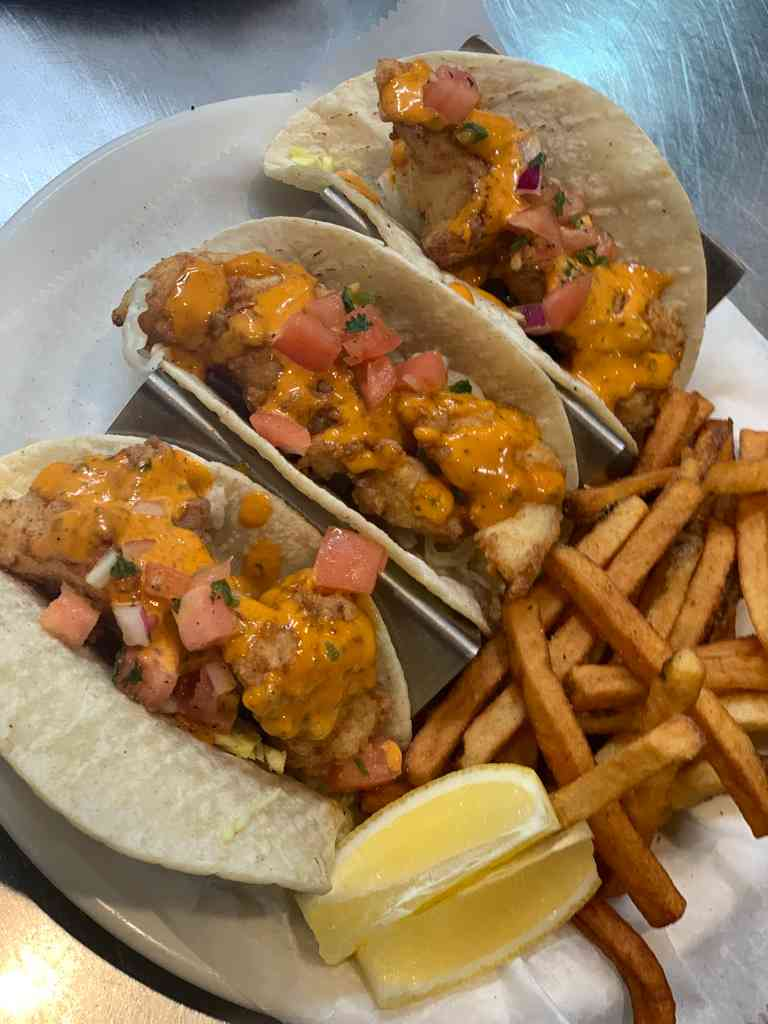 Fish Tacos (Fridays only)