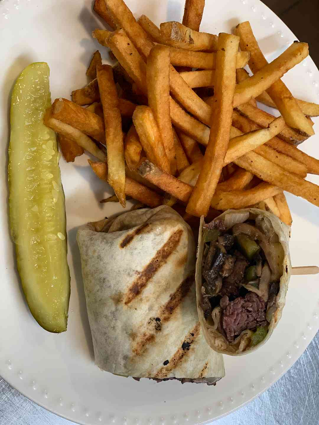 Spicy Steak Wrap