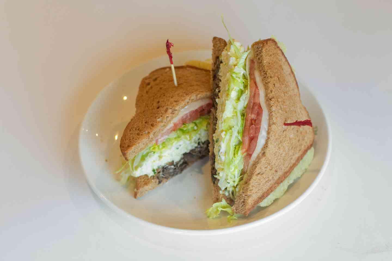 *Egg Salad Supreme Sandwich
