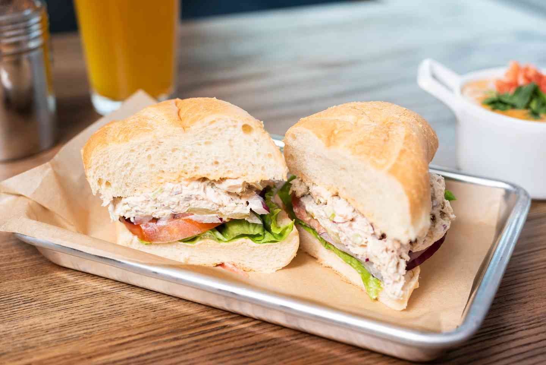 Albacroe Tuna Salad Sandwich