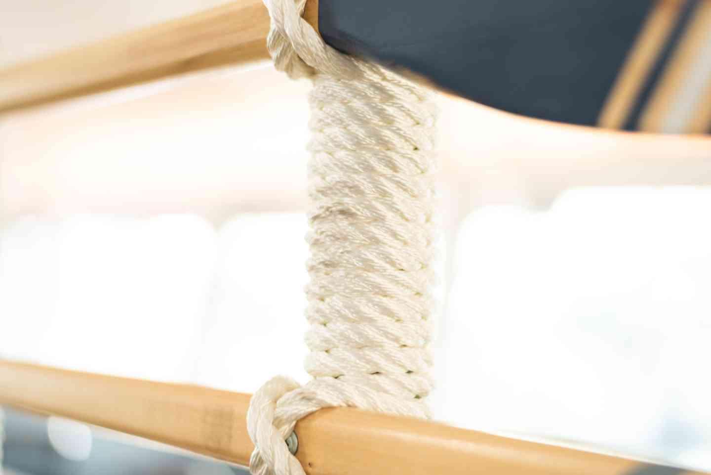 Nautical rope interior decor details