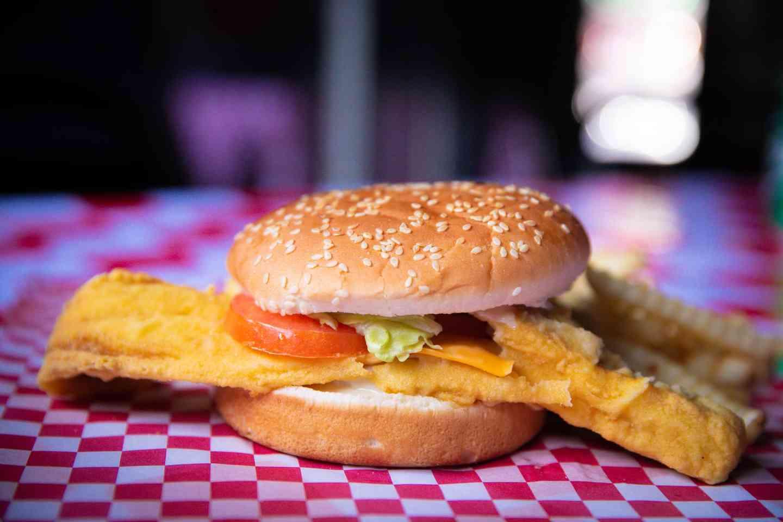 #2 Fish Sandwich