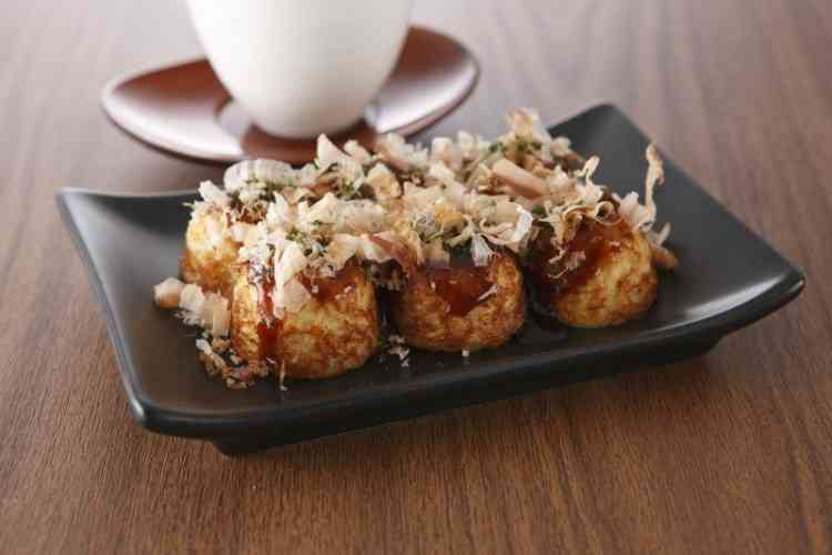 Octopus Fritters Ball 章魚燒