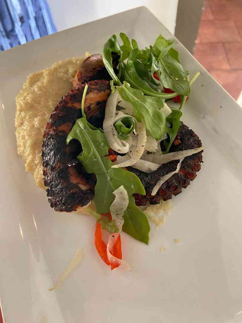 Ancho Grilled Octopus