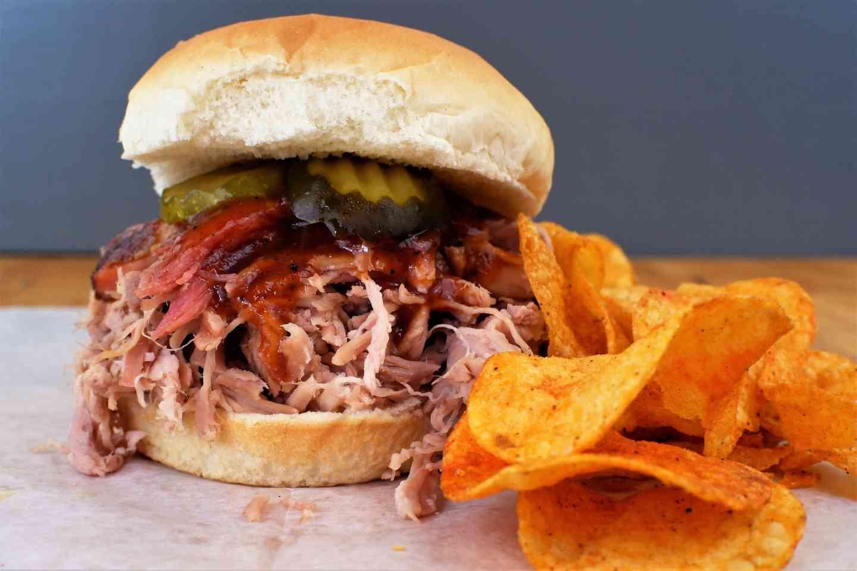 Bar-B-Q Pork Sandwich