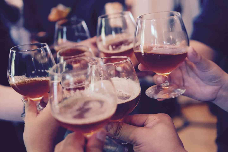 people cheers