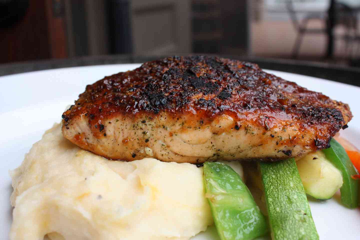 Barbeque Grilled Salmon