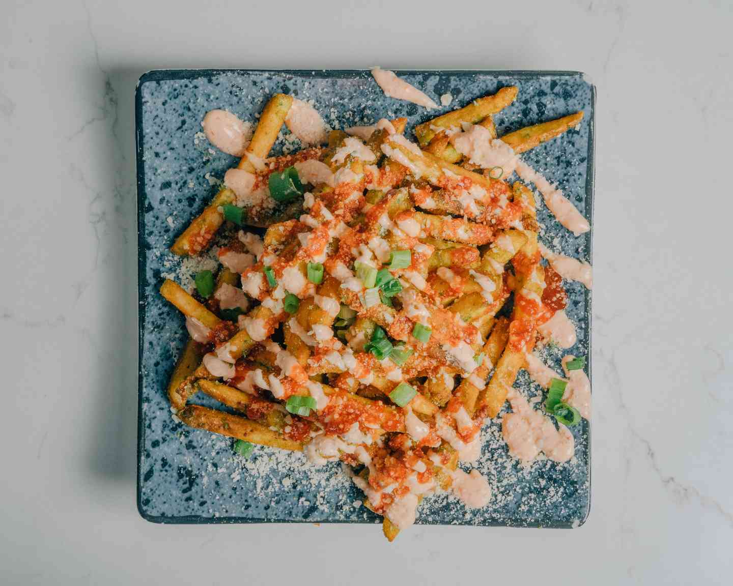 Drizzle Fries (V)