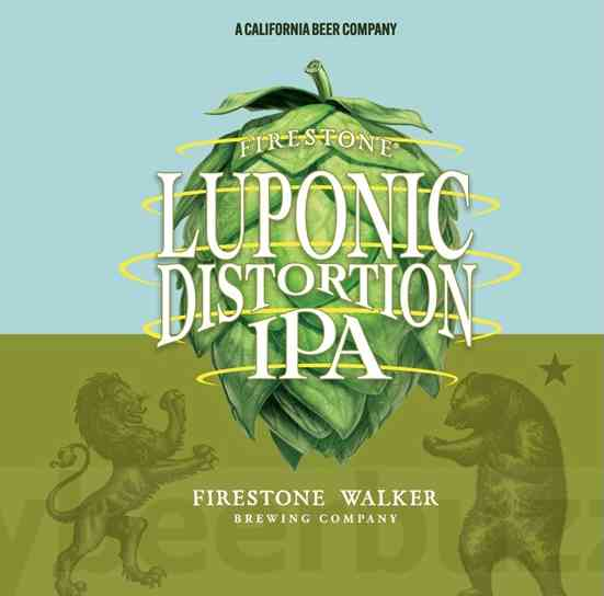 Firestone Walker, Luponic Distortion, Revolving Series IPA #18