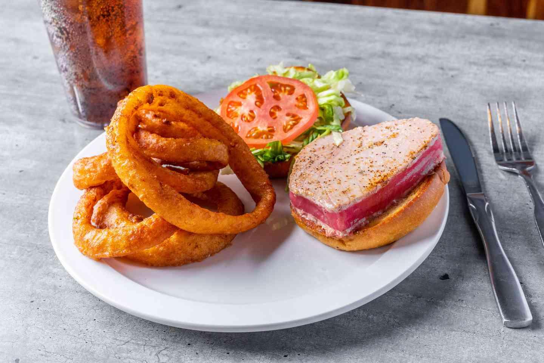 Seared Tuna Sandwich*