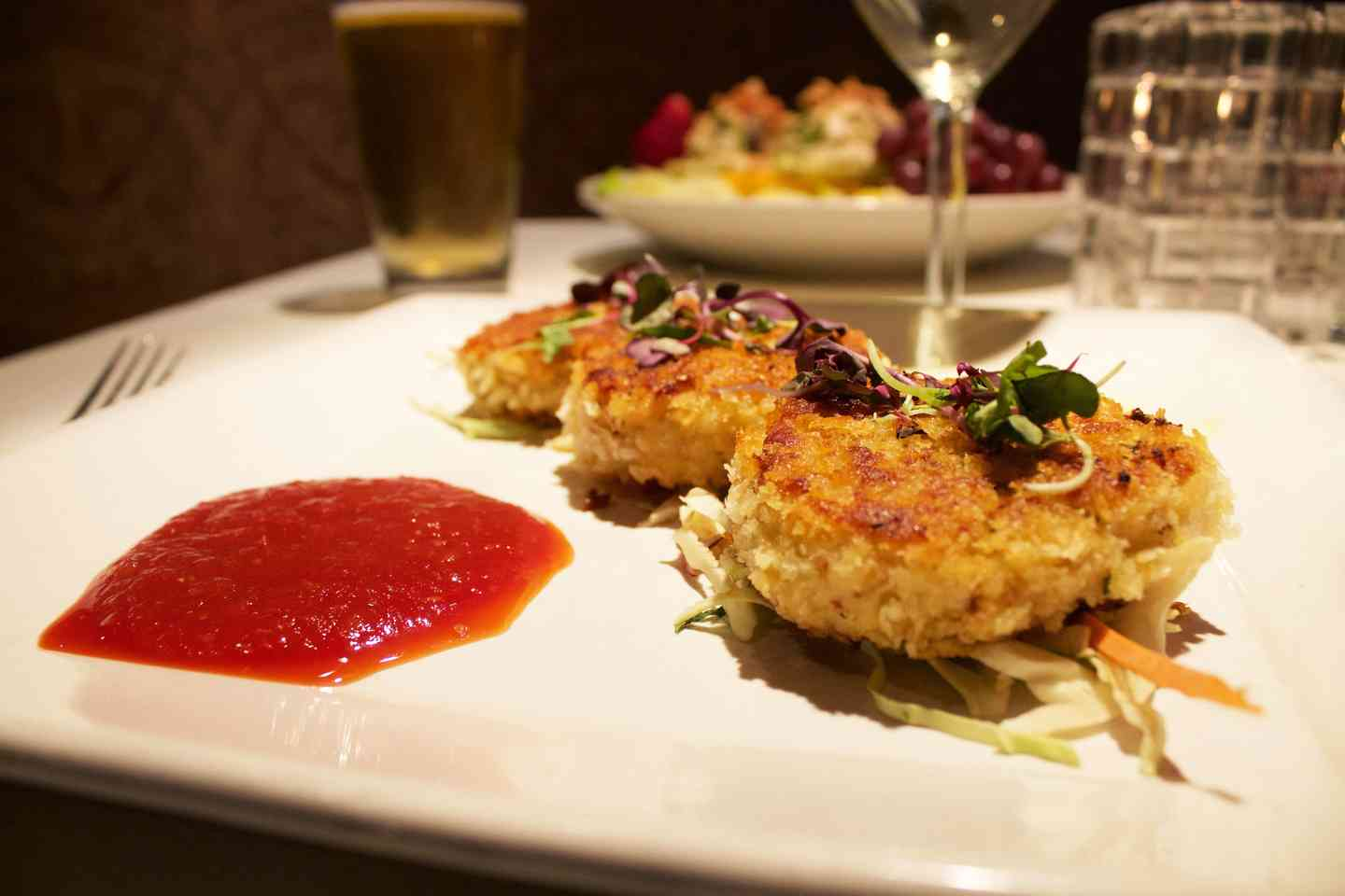 Crab & Scallop Cakes
