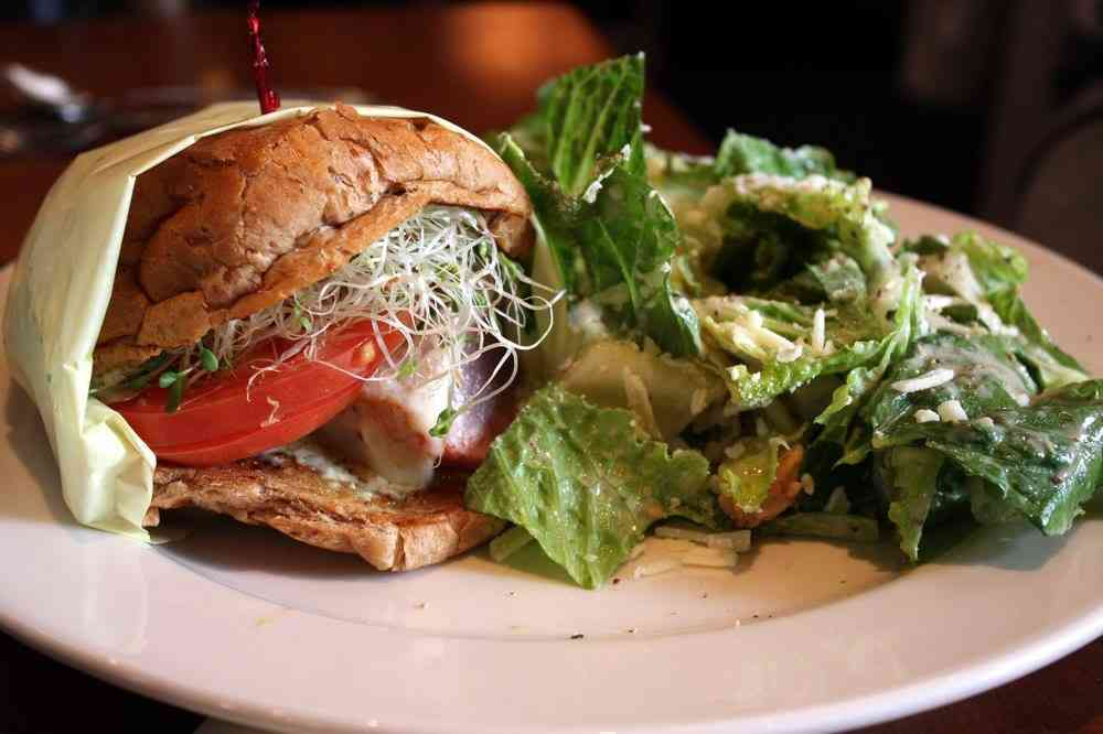 *Grilled Ahi Burger