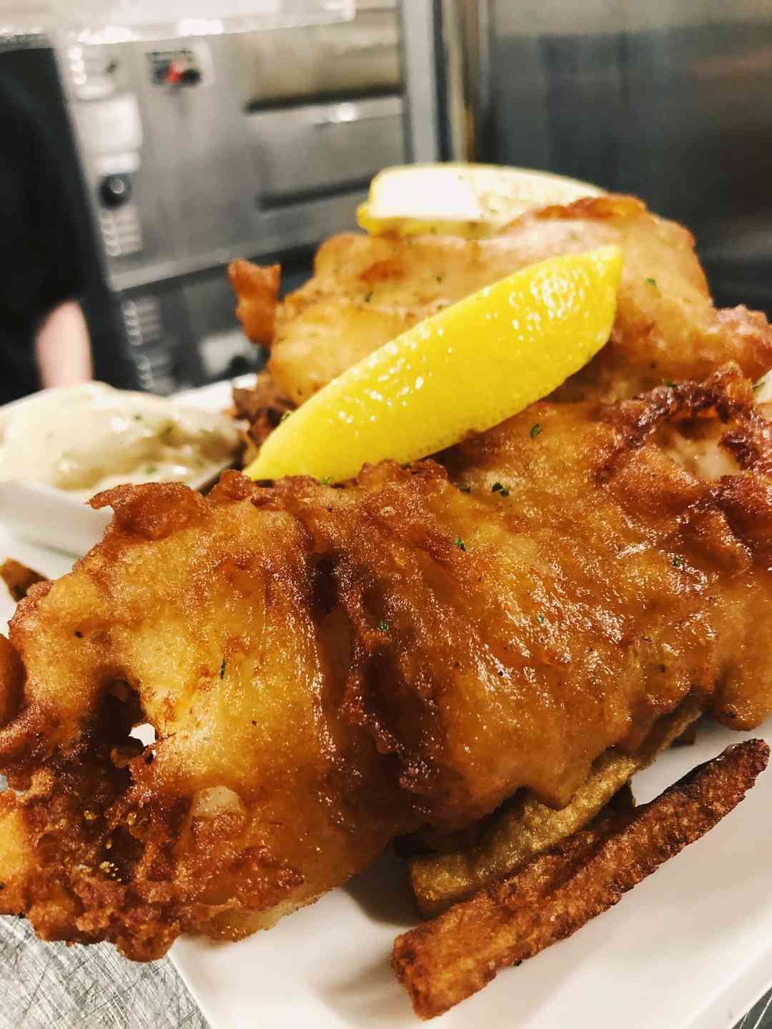 Beer Battered Fish 'N Chips