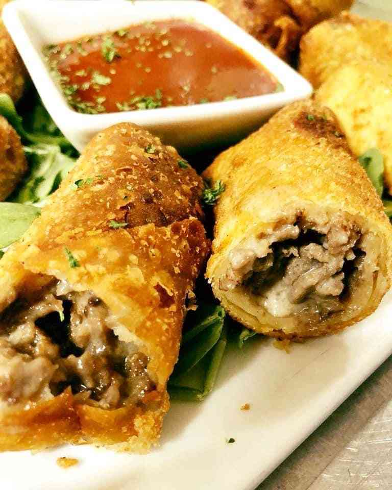 Benchwarmer Steak & Cheese Egg Rolls