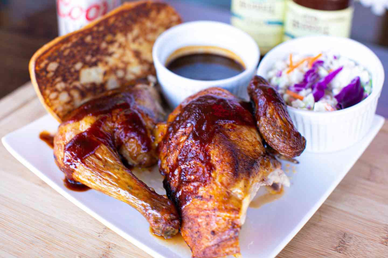 1/2 Chicken, Texas Toast