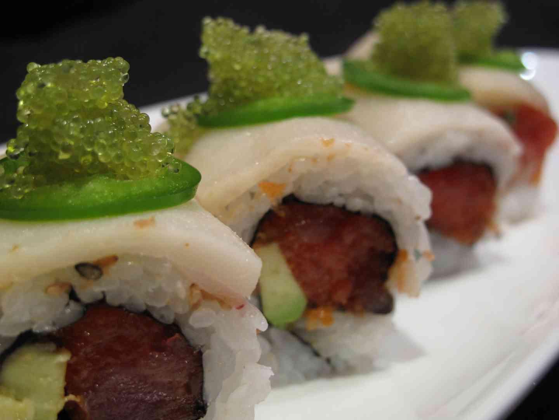 Spicy C.J. Tuna Roll*