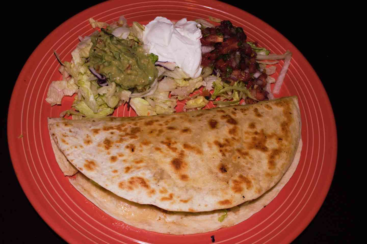 Lunch Grilled Quesadilla