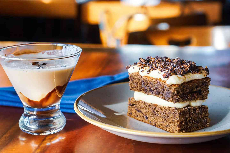 dessert and drink