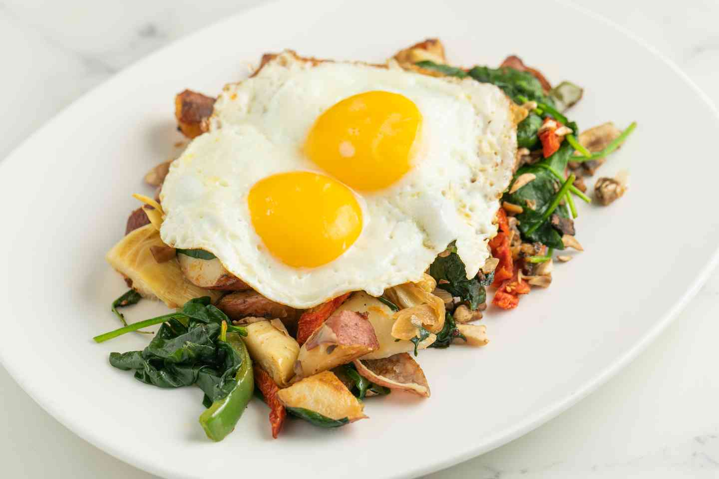 Chicken Apple Sausage Hash
