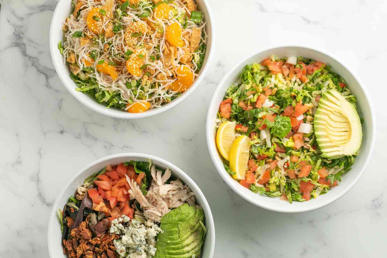 Fresh & healthy salads