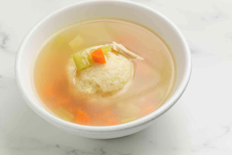 Chicken Matzoh Ball Soup*