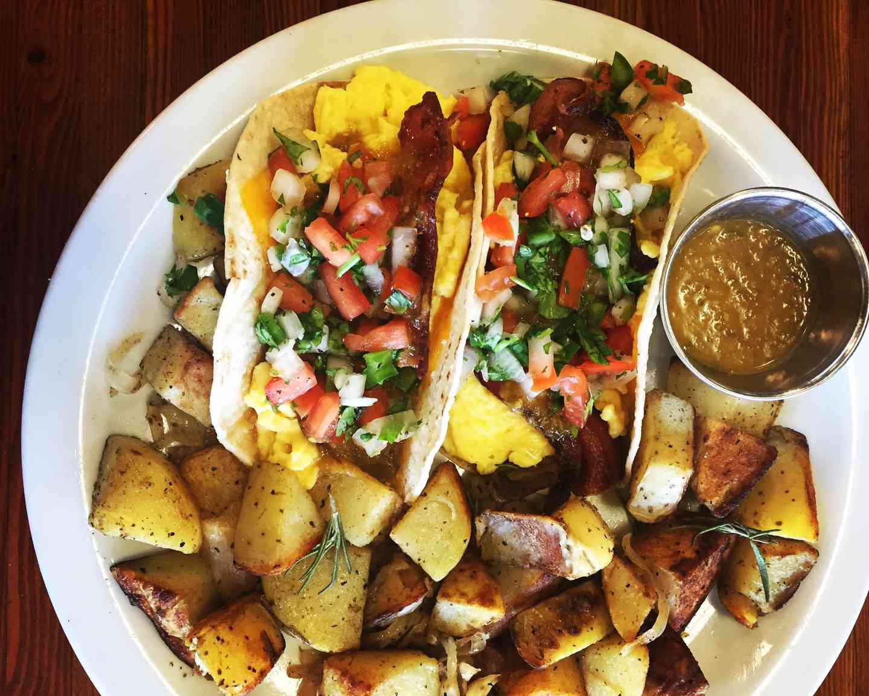 Bacon Breakfast Tacos