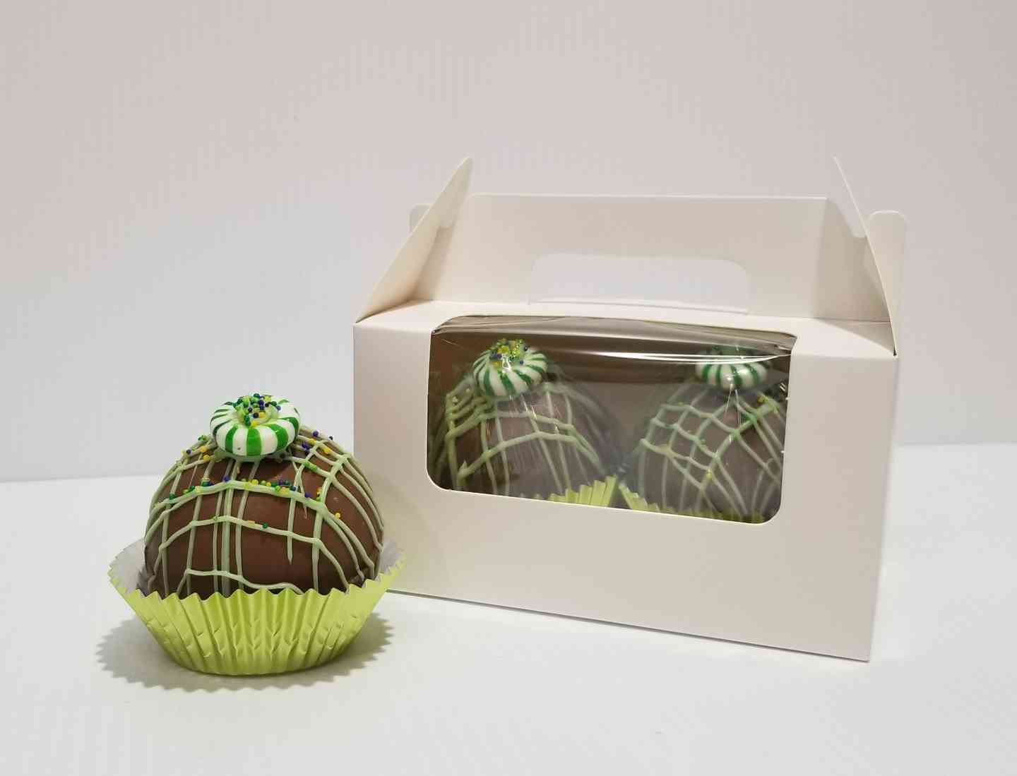 Mint Hot Chocolate Bombs, 2 pack