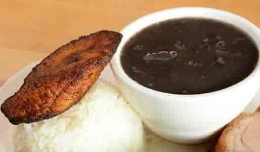 Black Beans, White Rice & Maduros