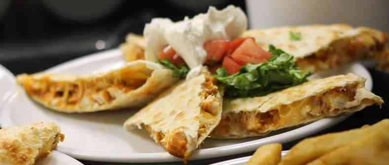 Brent's Crispy Buffalo Chicken Quesadilla