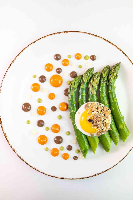 Warm Asparagus