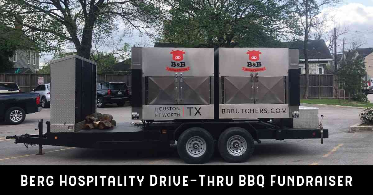 drive through bbq fundraiser