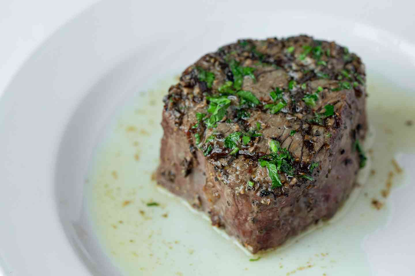 Filet with Truffle Butter