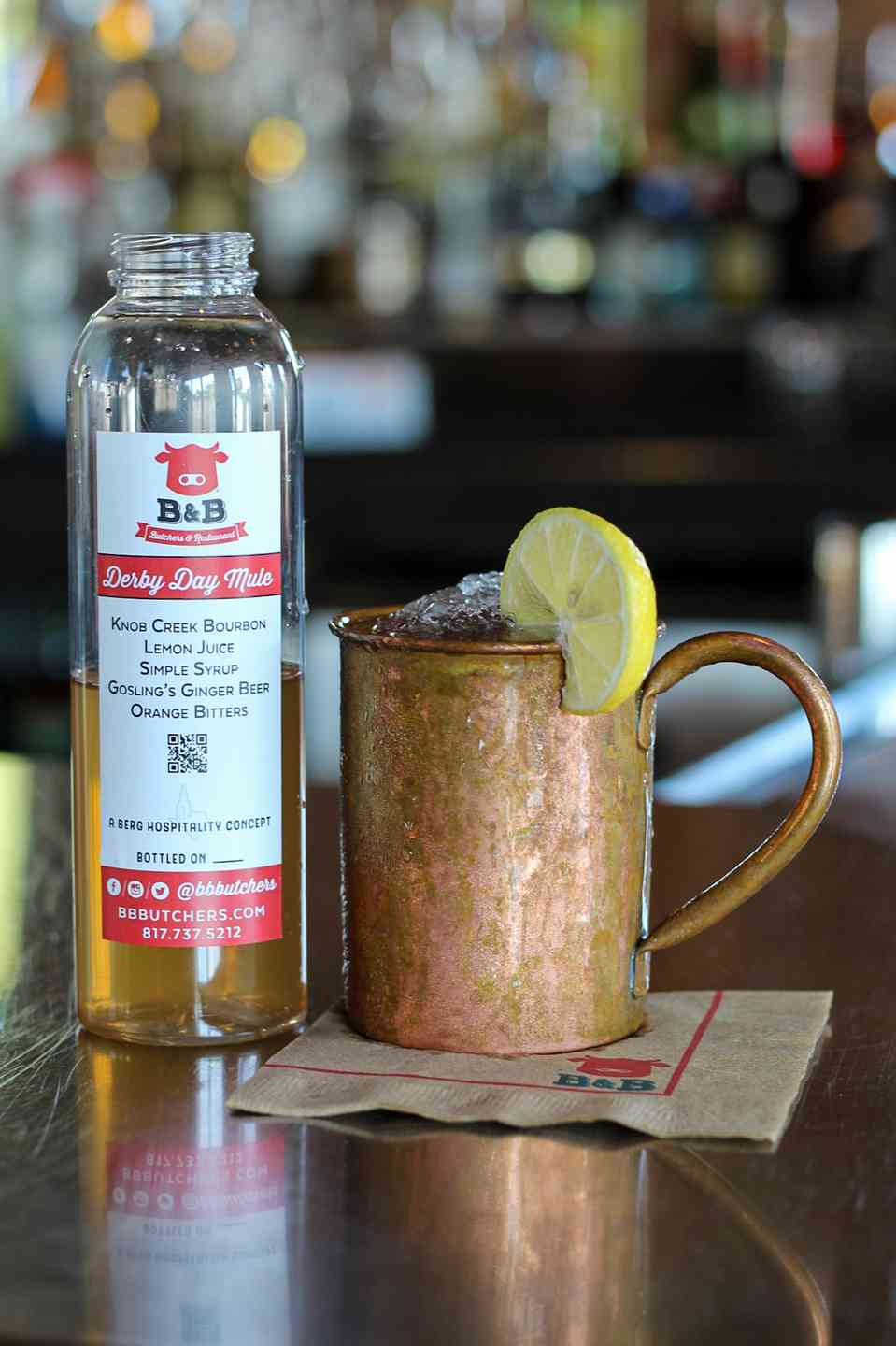 Derby Day Mule To-Go