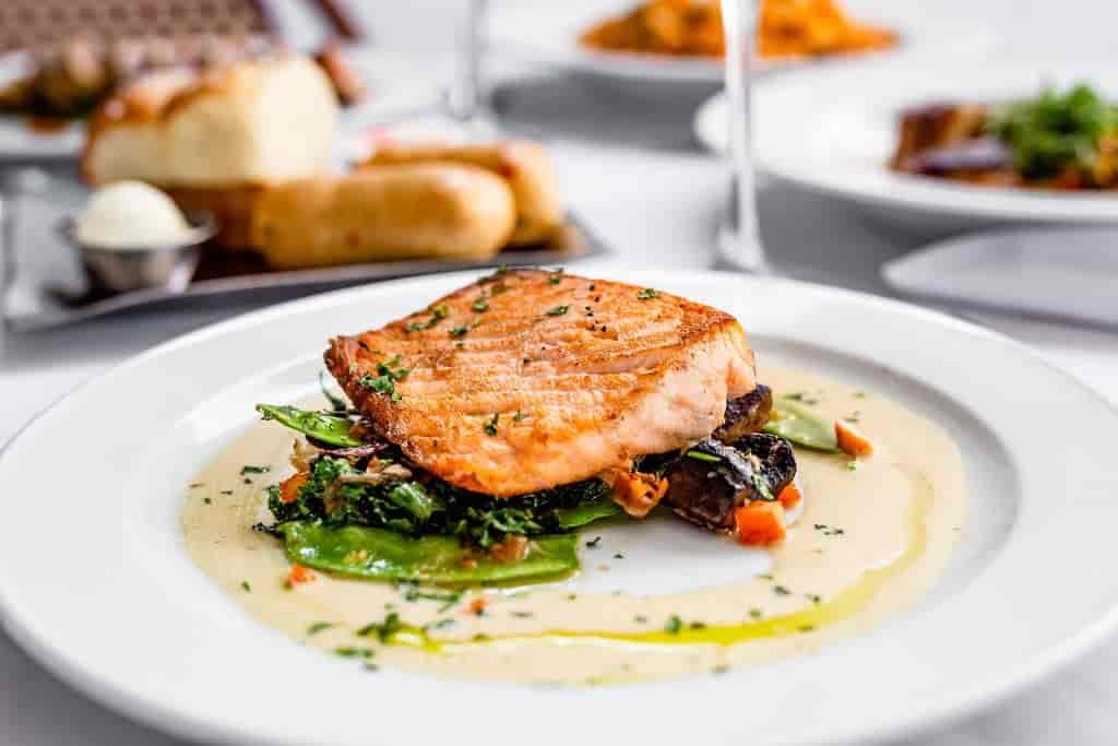 Pan-Seared Salmon*
