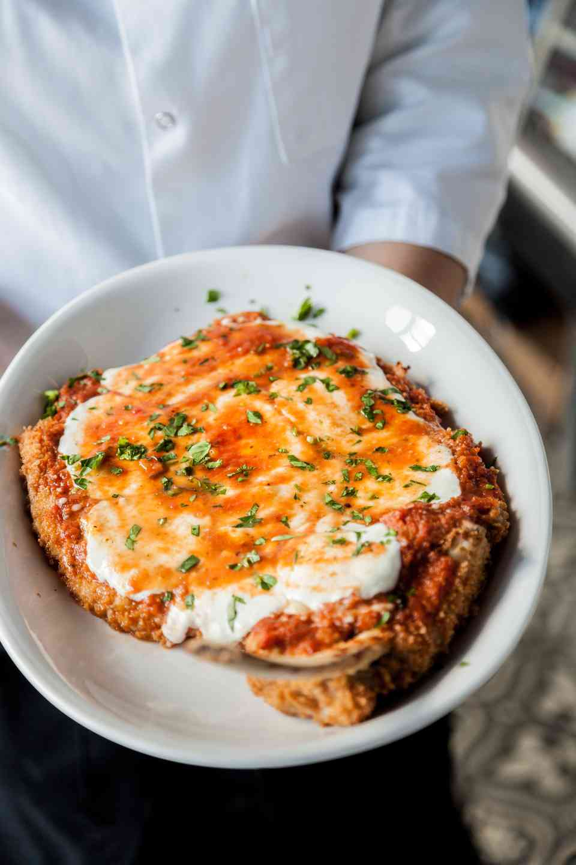Veal Chop Parmigiana