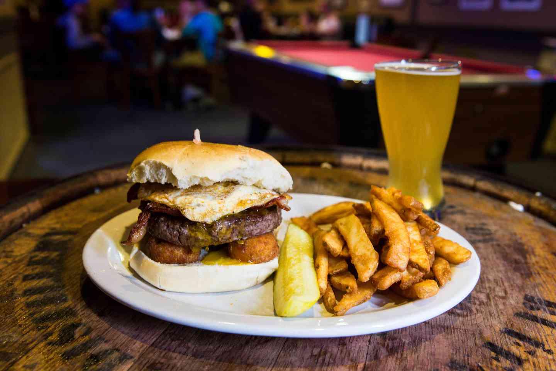 Kansas Breakfast Burger