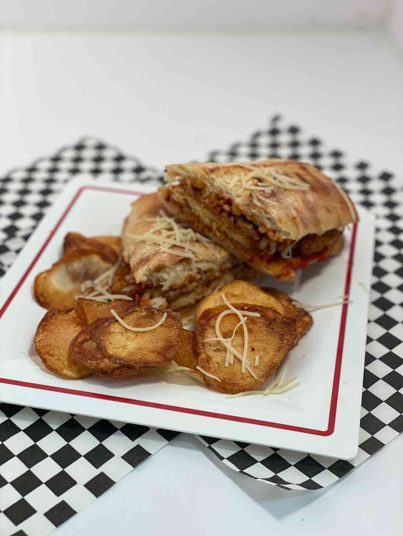Chicken Parmigiana Panini