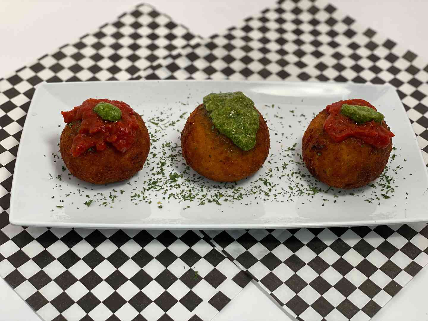 Arancini Three Pack
