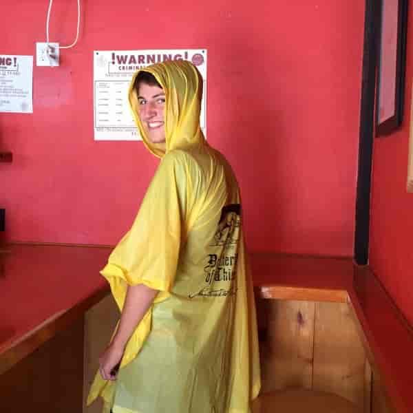 The Brotherhood Yellow Rain Poncho