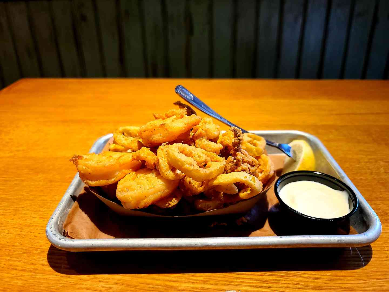 Spicy Fried Shrimp & Calamari