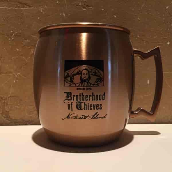 The Brotherhood Copper Mug