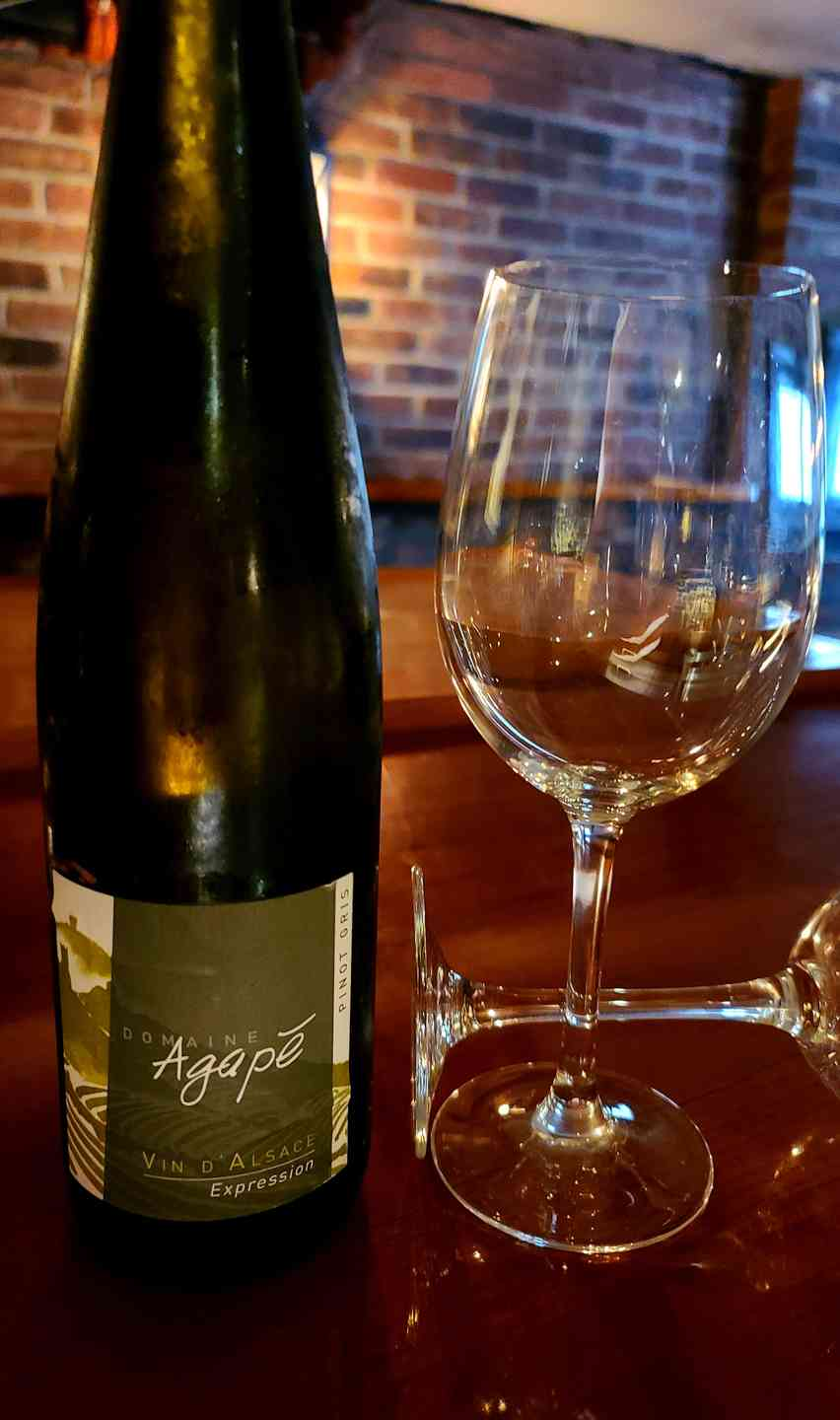 Pinot Gris, Domaine Agrape