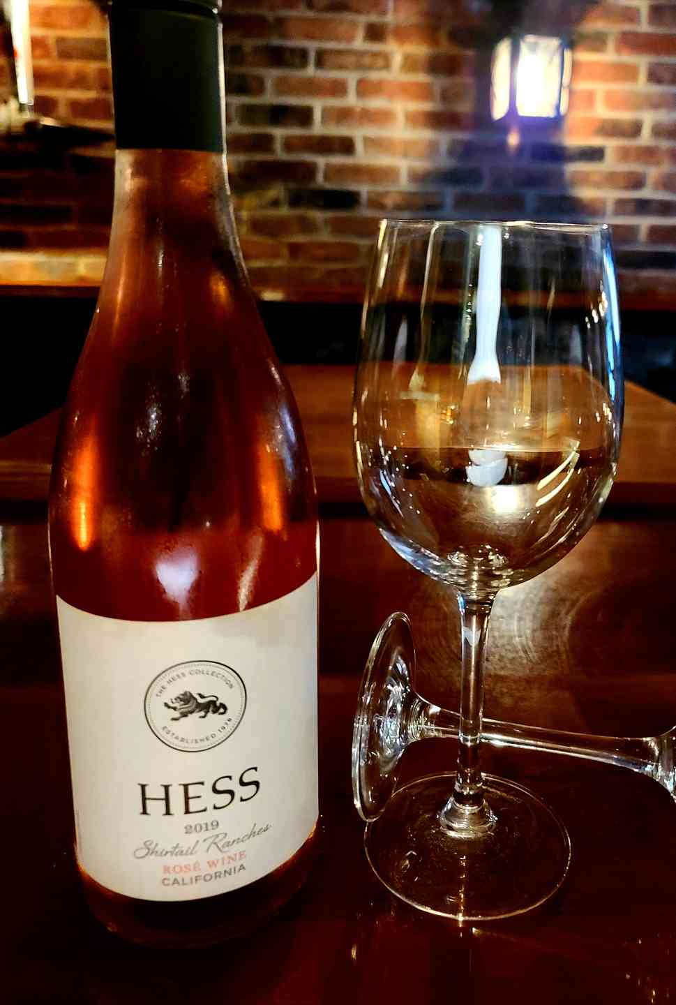 Rosé, Hess Shirttail