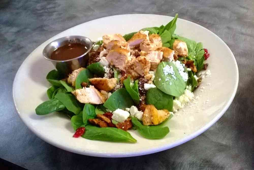 The Napa Spinach Salad
