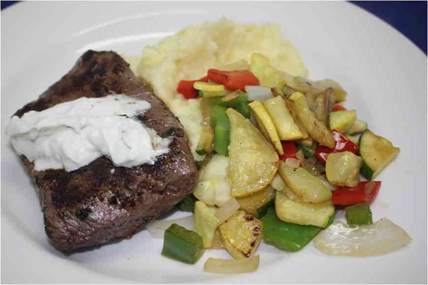 Steak Gorgonzola