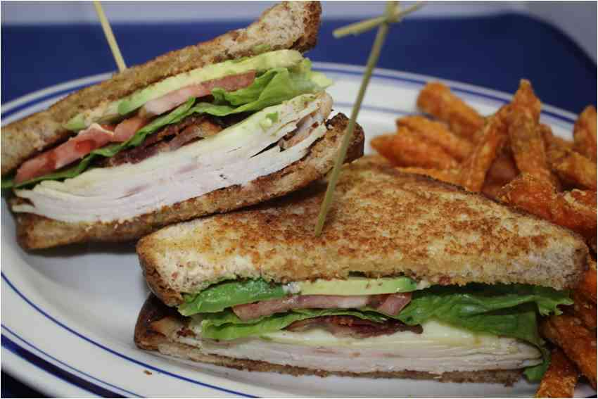 California Turkey Club Sandwich