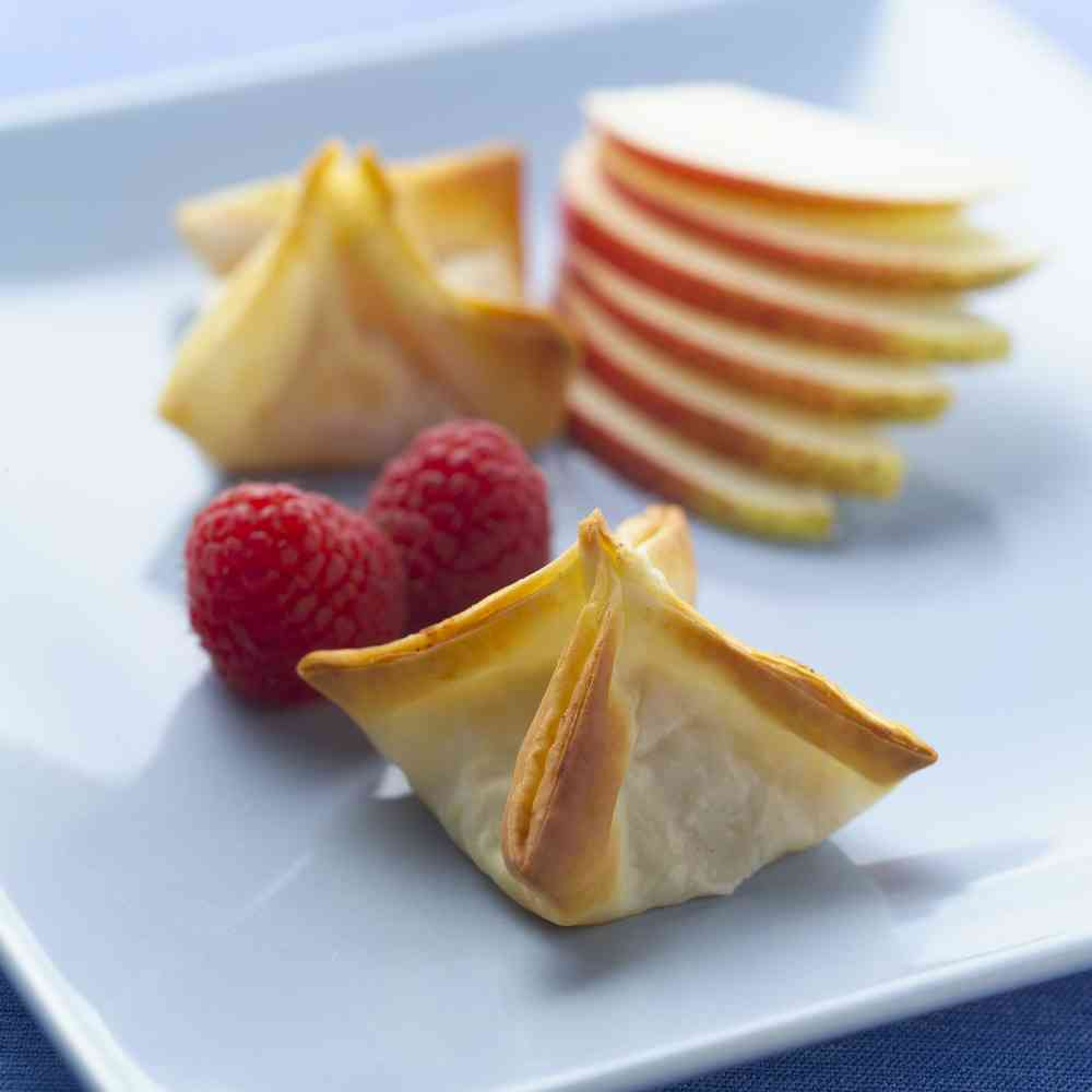 Brie & Raspberry in Phyllo