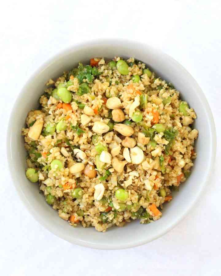 Cauliflower & Quinoa Fried Rice